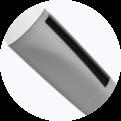 Hervulbare inktcartridge